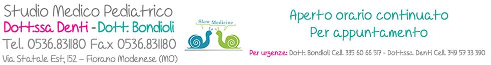 Studio medico pediatrico Dott. Bondioli – Dott.ssa Denti